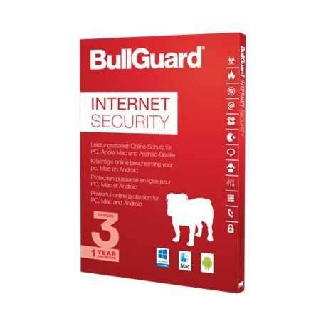 BullGuard Premium Protection  - 1YR/10 Device Multi Device License - Retail ESD