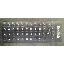 Stickervel UK / US QWERTY