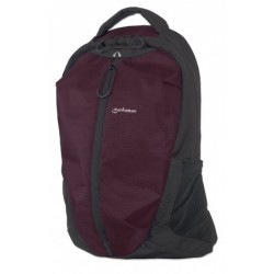 "Airpack, Lightweight Top-Loading Backpack for Most Laptop Computers Up To 15.6"", Plum/Black"