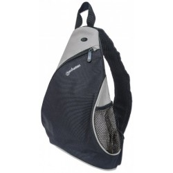 "Dashpack, Lightweight, Sling-style Carrier for Most Tablets and Ultrabooks up to 12"", Black/Light Gray"